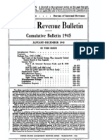 Bureau of Internal Revenue Cumulative Bulletin 1945