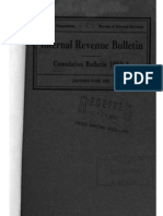 Bureau of Internal Revenue Cumulative Bulletin 1952-1