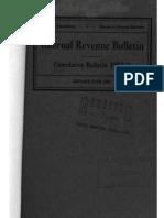 Bureau of Internal Revenue Cumulative Bulletin 1952-1