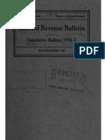 Bureau of Internal Revenue Cumulative Bulletin 1950-2