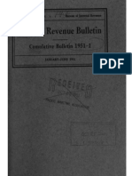 Bureau of Internal Revenue Cumulative Bulletin 1951-1