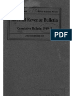 Bureau of Internal Revenue Cumulative Bulletin 1949-2