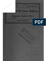 Internal Revenue Service Cumulative Bulletin 1953-2