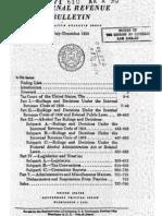 Internal Revenue Service Cumulative Bulletin 1954-2