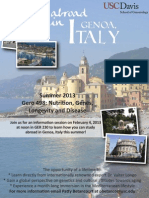 Summer study abroad program in Italy
