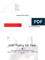 Irish poetry for Year 4