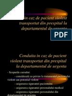 u Pacient Violent