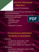 g Traumatismul Abdominal