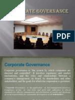 CORPORAYE GOVERNANCE