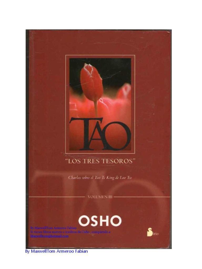 Vol Los 3 Osho Tao Tres Tesoros b7Y6gyvf