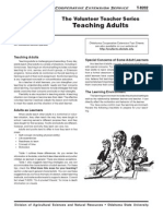 oces - teaching adults leaflet