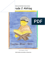 17105380 Grade 2 Akhlaq Book
