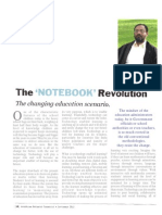 The Notebook Revolution - The changing education scenario