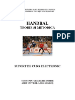 Carte _Handbal _ Suport Electronic-zamfir- Gombos-2007