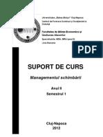 Managementul Schimbarii