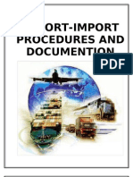 export import procedures and documentation