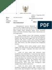 Surat Kepada Pimpinan Parpol