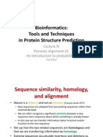 Tools and Techniquesin Protein Structure Prediction
