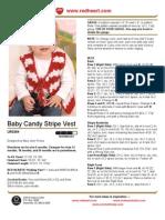 Baby Candy Stripe Vest
