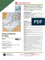 Diamond Blanket for Baby