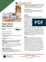 Ripple Waves Baby Blanket