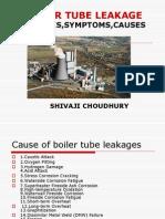 boiler tube leakages