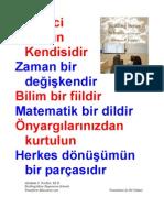Herkes dönüşümün bir parçasıdır PDF TURKISH 17 Eğitim İlkesi  POSTER