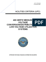 400 Hertz Medium Voltage Conversion-Distribution