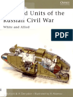 083 Armored Units of the Russian Civil War White Allied Osprey Nv 83