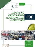 Manual Manipuladores de Alimentos