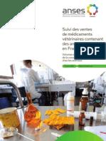 Suivi des ventes de médicaments vétérinaires contenant des antibiotiques en France en 2010
