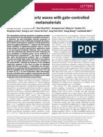 graphene metamaterials