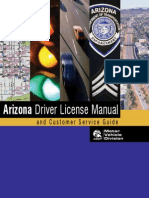 Arizona Driver License Manual - 2013