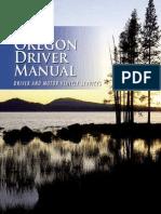 Oregon Driver Manual - 2013