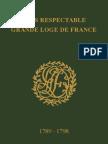 Grand Livre d'Architecture du 9 février 1789 au 5 juin 1798