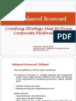 Balanced Score Card - Strategy Roadmap