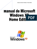 Manual de Microsoft Windows XP Home Edition