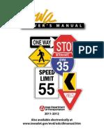 Iowa Drivers Manual - 2013