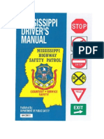 Mississippi Drivers Manual - 2013