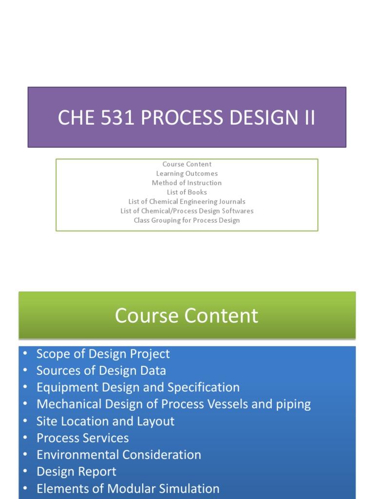 Process Design Heat Exchanger Engineering