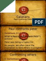 Paul Confronts Peter