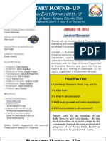 Bulletin 01.19.2012