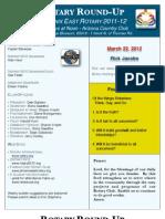 Bulletin 03.22.2012