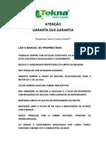 02 Manual Rocadeira Tekna Rl260tky Rl330tky Rld330tky Rl430tky