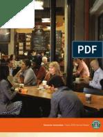 Starbucks 2009 Annual Report