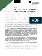Washington Legal Foundation news release