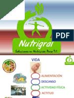 Taller de Nutrición - Nutrigral