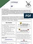newsletter 25 Jan 12