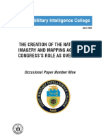 The Creation of the National Imagery and Mapping Agency