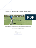 50 Tips for Hitting Your Longest Drives Ever